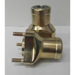 Etunapa magnesium 17mm pituus 76mm (40/58mm)