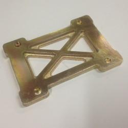 Moottoripukin korotuslevy 10mm magnesium
