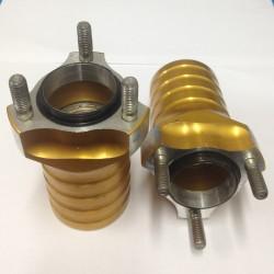 Etunapa alumiini 25mm pituus 96mm (keskiö 40mm)