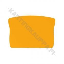Takapuskurin numeropohja keltainen
