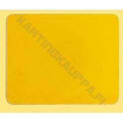 Numeropohja keltainen 160x200mm